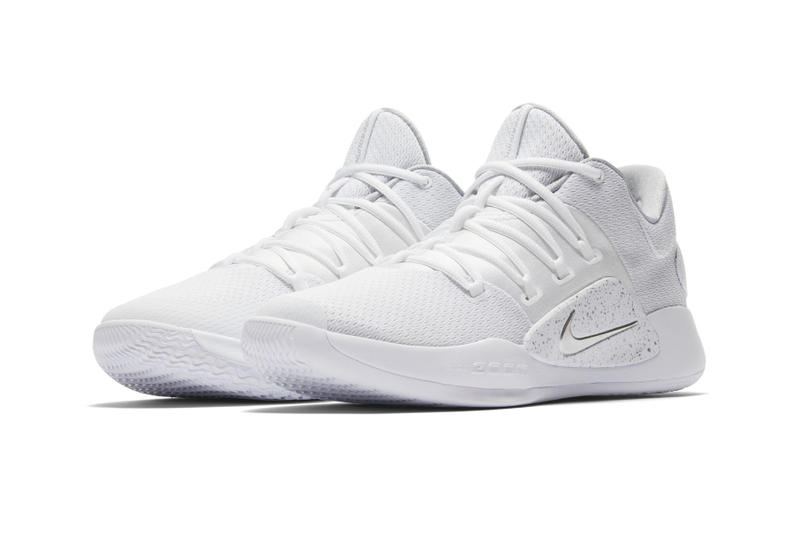 "Nike Hyperdunk X Low ""Pure Platinum"" Release Date sneaker triple white price purchase info"