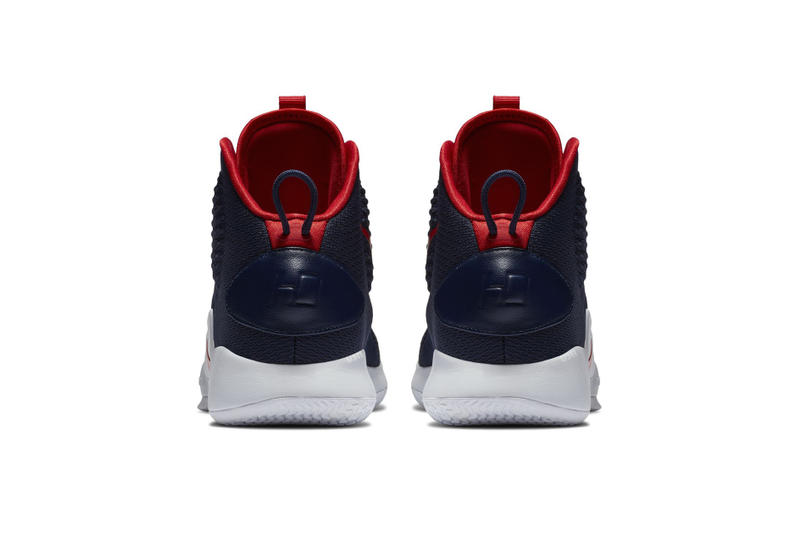 7563acaa6f5 Nike Hyperdunk X USA Colorway patriotic theme navy red white 4th of July new  basketball silhouette