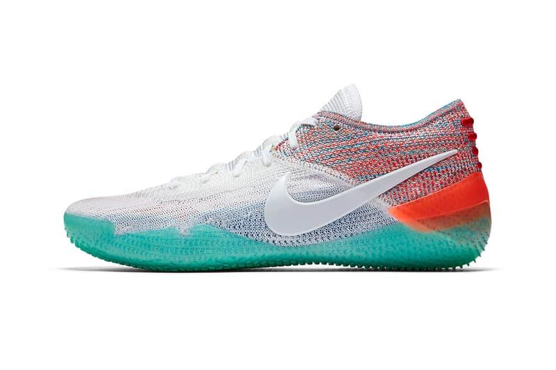 Nike New Kobe AD NXT 360 Multi-Color release info sneakers kobe bryant emerald green white orange