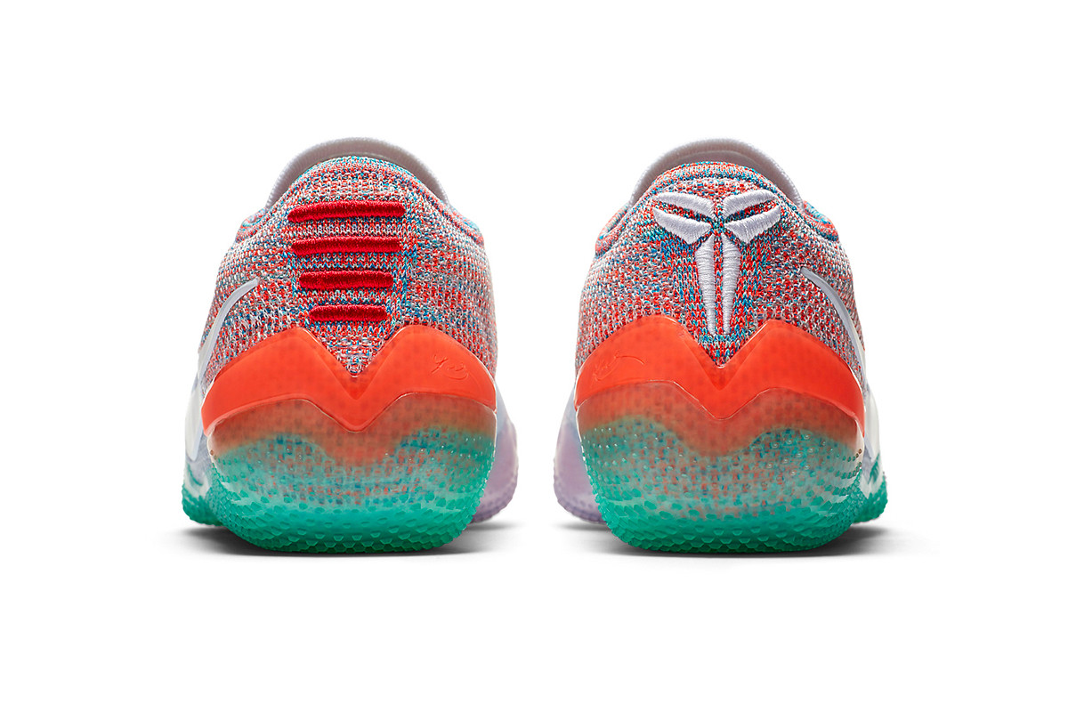 kobe ad red and green