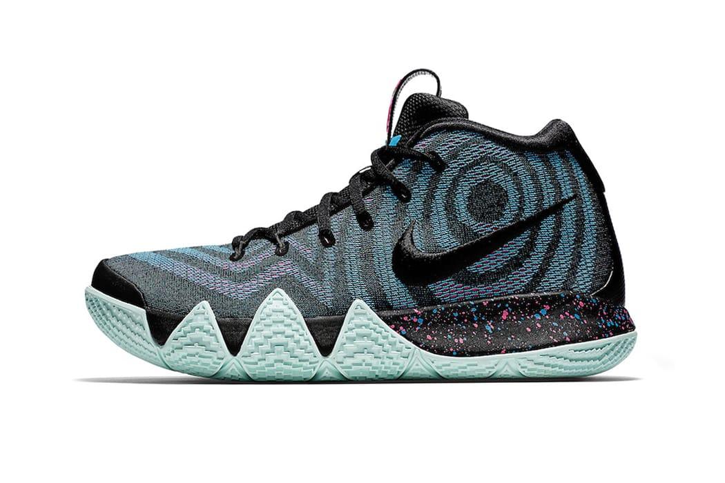 "Nike Reveals the Kyrie 4 ""Laser Fuchsia"