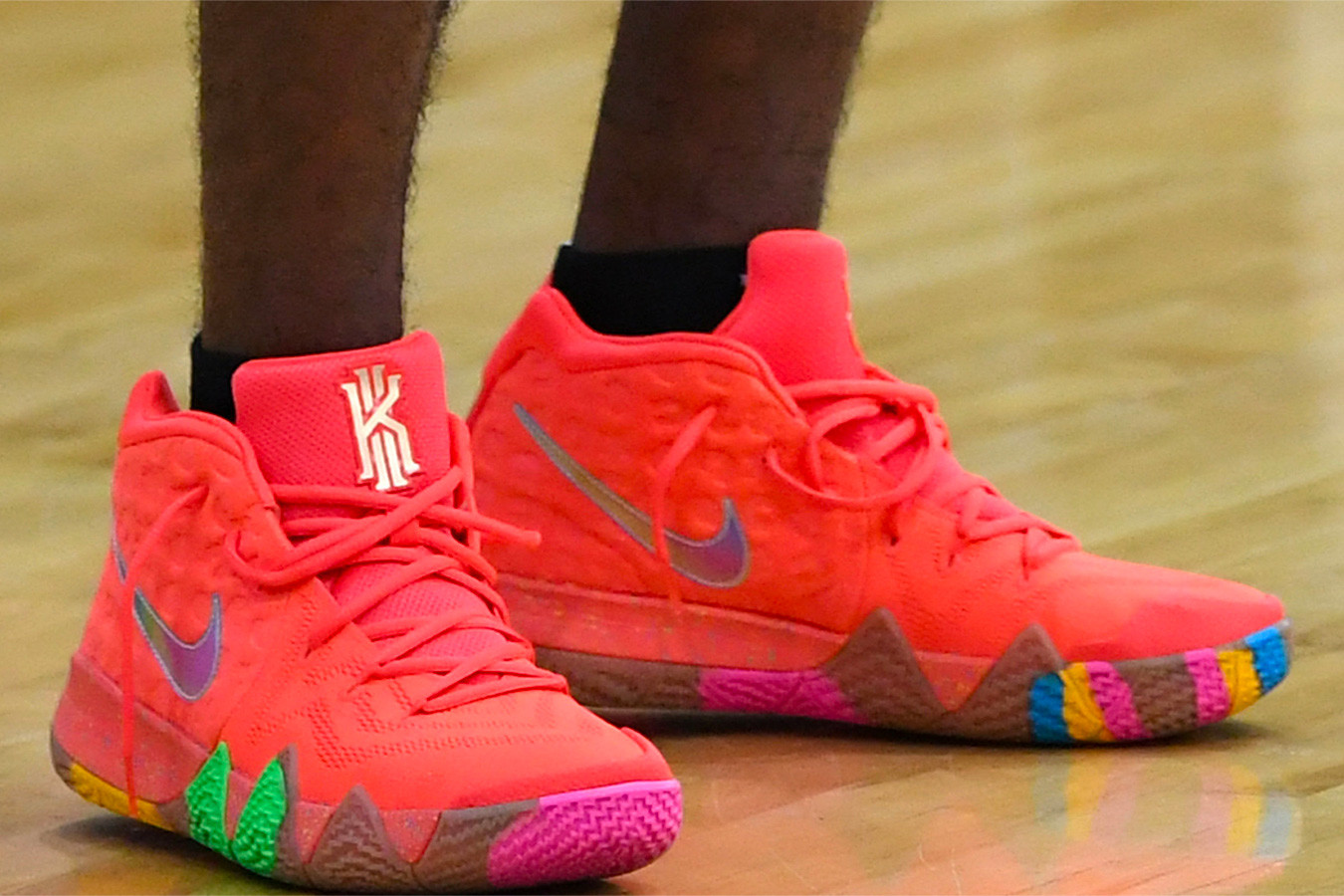 green kyrie 4 lucky charms
