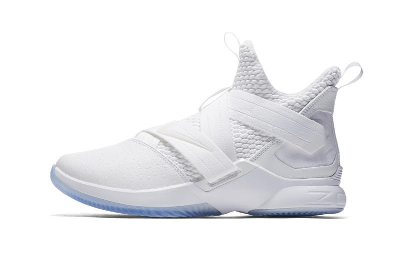 uk availability 7a0ff d9473 Nike LeBron Soldier 12 Triple White | HYPEBEAST DROPS