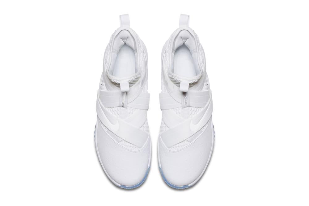 "Nike LeBron Soldier 12 SFG EP ""Triple White"" Release Date sneaker basketball lebron james nba"
