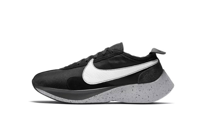 nike moon racer black white wolf grey black sail volt 2018 footwear