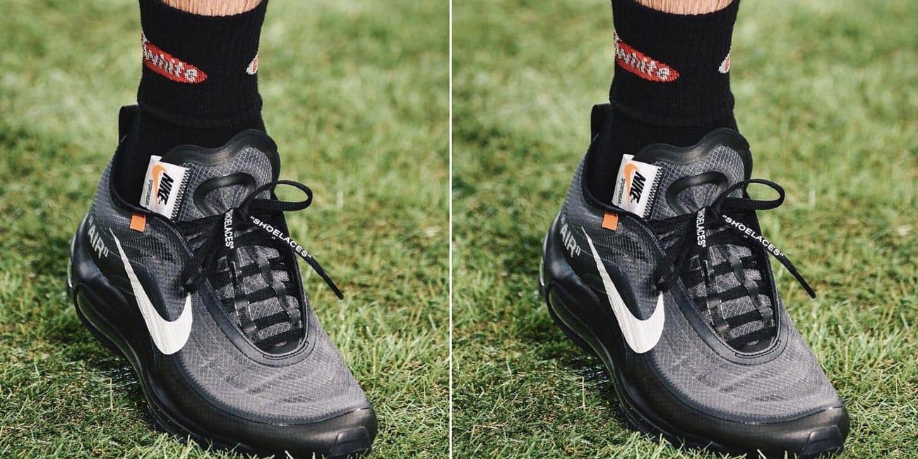 Nike Air Max 97 x Off-White™ Black On