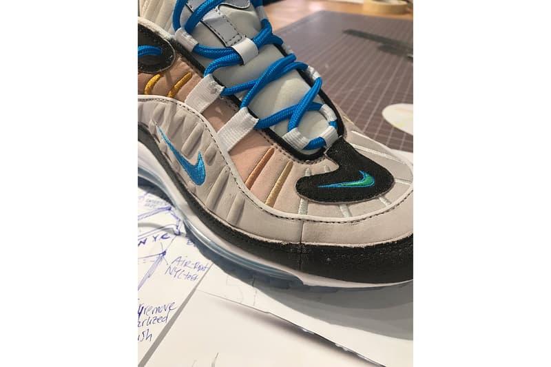 "Nike Air Max 98 On Air ""La Mezcla"" Nike ON AIR 2018 winner nyc"