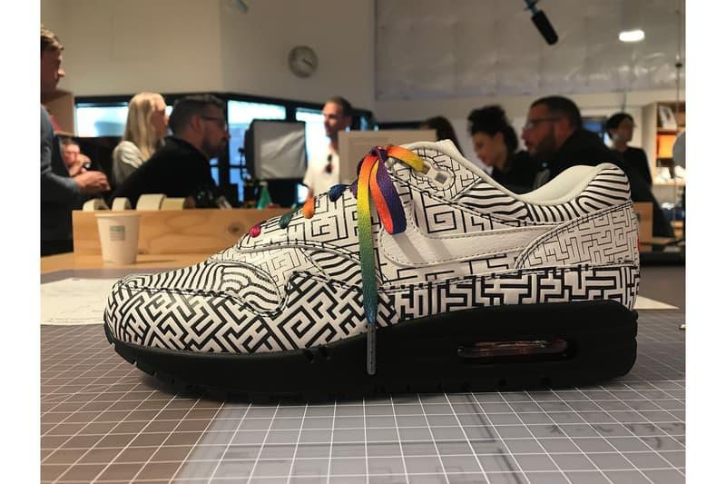 """Nike Air Max 1 On Air """"Tokyo Maze"""" Nike ON AIR 2018 contest winner"""