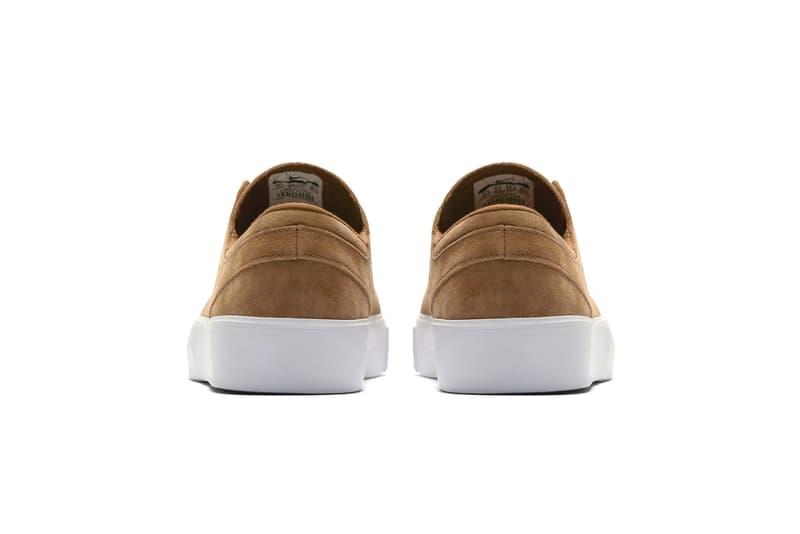 """Nike SB Zoom Janoski HT Slip-On """"British Tan"""" release date sneaker skateboarding stefan blue void"""
