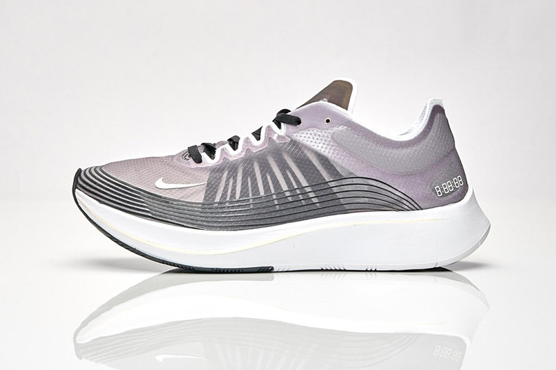"low priced 1cb69 cf0c0 Nike Gives the Zoom Fly SP a Clean Black   ""Light Bone""."