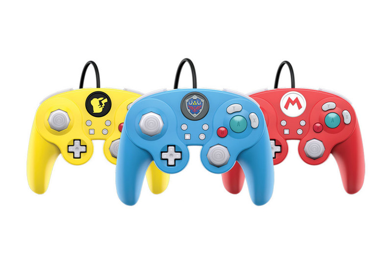 Gamecube-Inspired Controllers Are Heading to Nintendo'