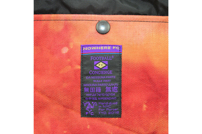 a97acf941 Nowhere FC Porter Football Concierge Bag Capsule Duffle Bag Hip Backpack  Forest Maroon 1 Soccer Tie