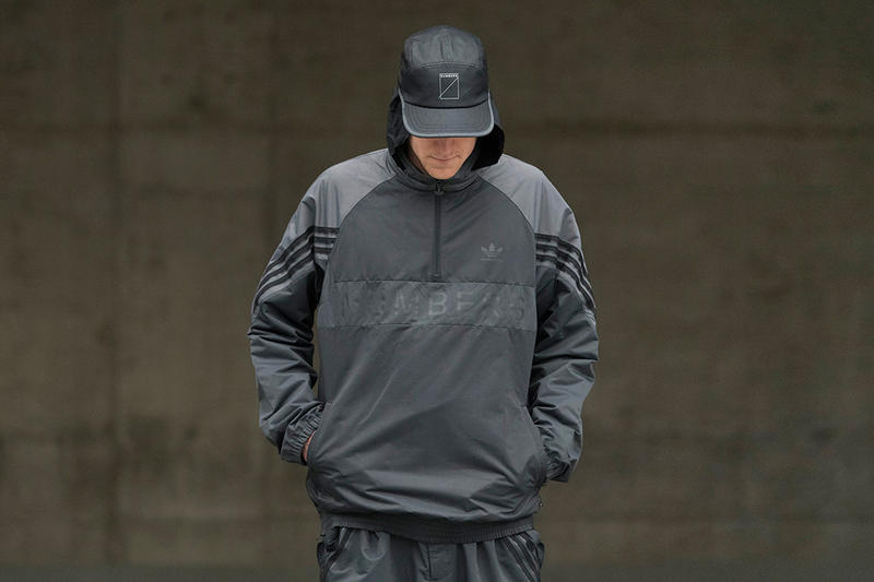 adida Numbers Skateboarding collaboration lookbook Collection city cup windbreaker hat pants