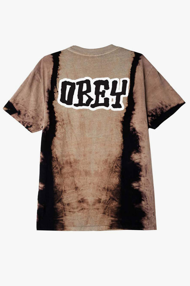 Obey Releases Colorful Tie Dye Pack  Shepard Fairy Obey Giant T Shirt Short Long Hoodie
