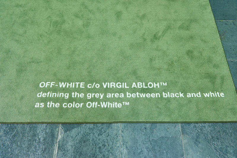 Off White™ C/O VIRGIL ABLOH Seoul Stores Inside Closer Look Clothing Freestanding Hyundai Coex korea