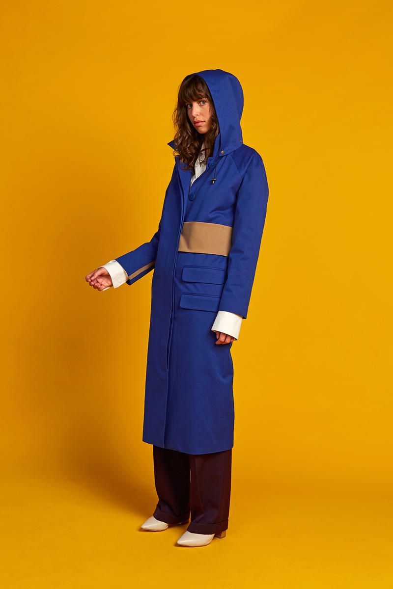 Okewa Rainwear Recycled Rainwear Capsule Collection Garments Oversized Coats Overcoats Jackets