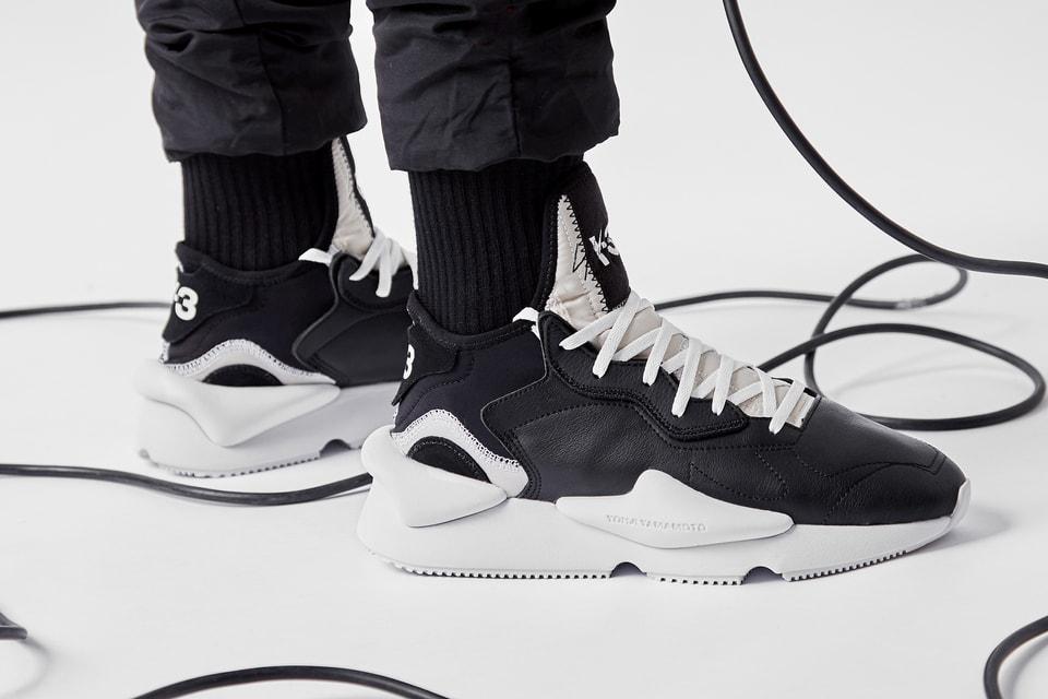 88a0bdfb5 On-Foot Shots of the adidas Y-3 Kaiwa