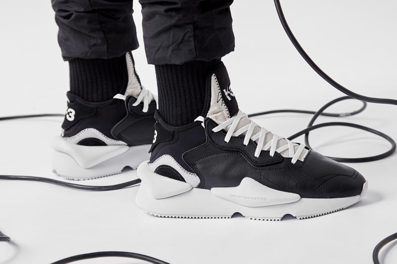 The adidas Y-3 Kaiwa On-Foot  be75c01ce851