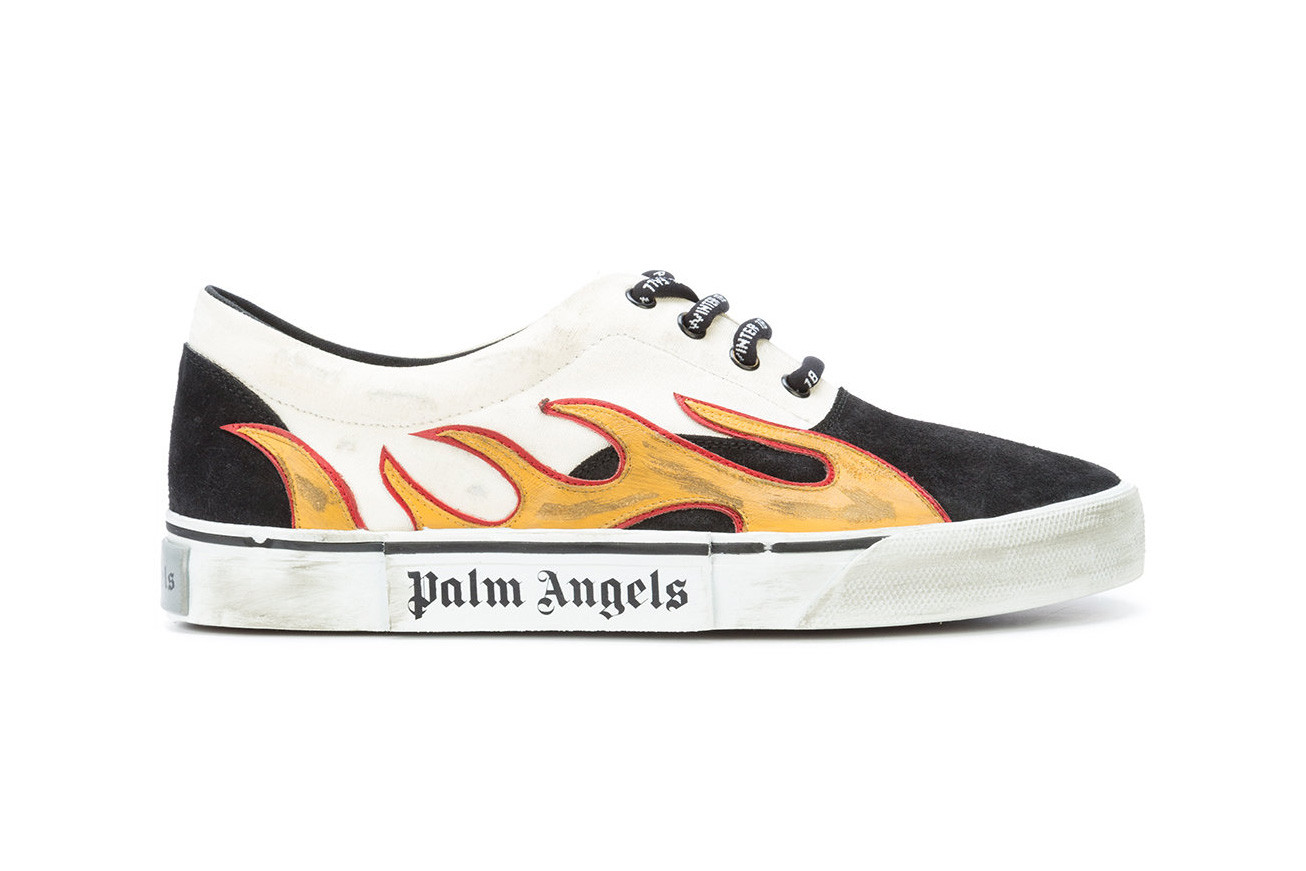 Palm Angels Flame Sneakers for Fall