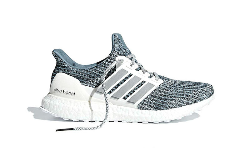 Parley adidas UltraBOOST fall 2018 Ocean Blue colorway recycled plastic fall release sneaker footwear