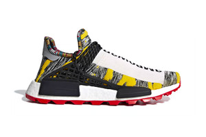 "Pharrell x adidas Originals NMD Hu ""Solar"" Pack Gets a Release Date"
