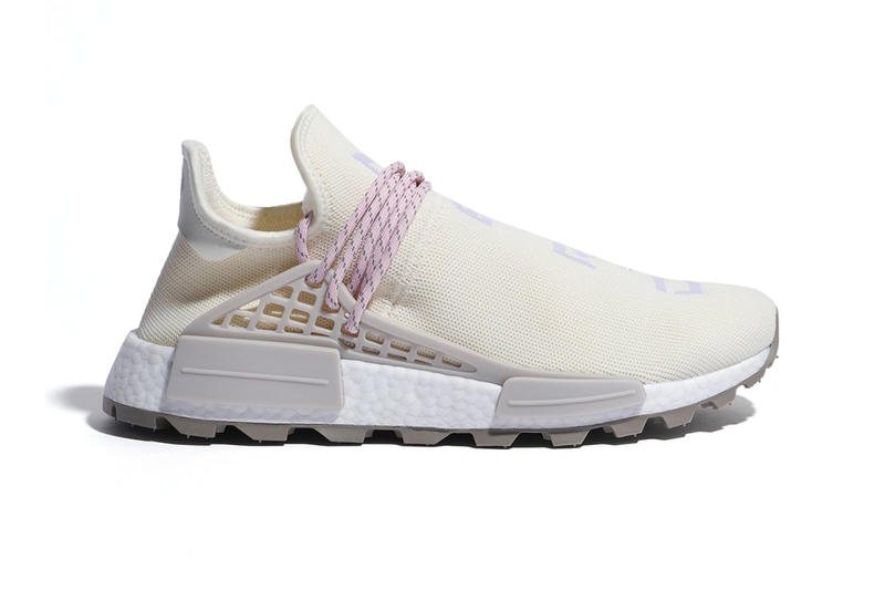 f6f7b986e Pharrell williams adidas NMD Hu N.E.R.D. New Colorway pink cream first look  sneaker release date price