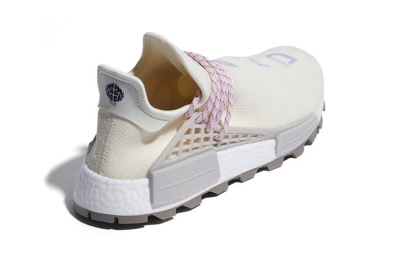 4dc030d6a Pharrell williams adidas NMD Hu N.E.R.D. New Colorway pink cream first look  sneaker release date price