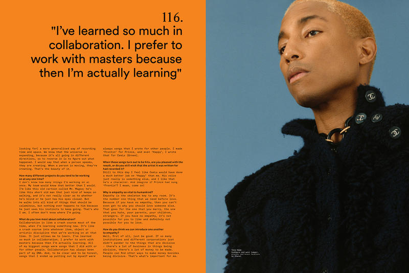 Clash Magazine pharrell summer 2018 issue freedom london photo shoot wales bonner cover troye sivan anderson paak billie eilish