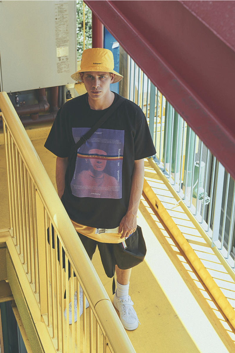 POLIQUANT Spring Summer 2019 Public Pressure Lookbook Collection Japanese Fashion