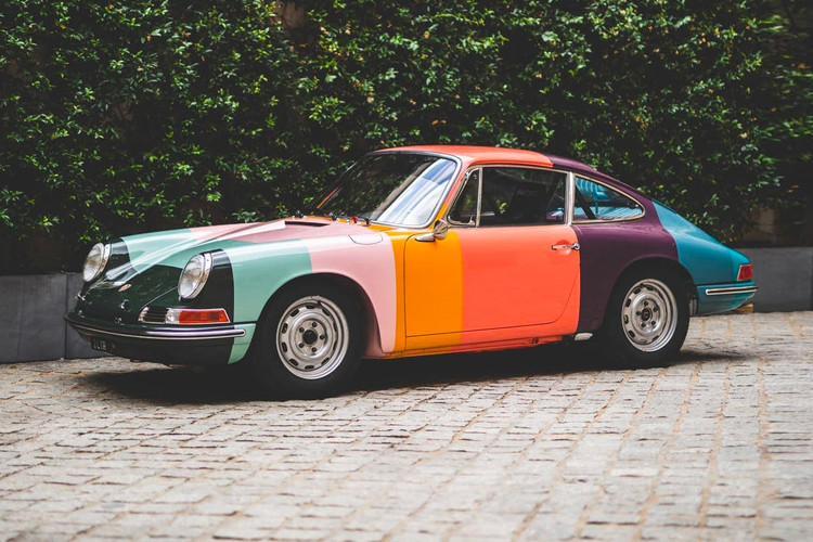 8445cdfa8 This Race-Ready 1965 Porsche 911 Gets Dressed in Paul Smith's Iconic Stripes