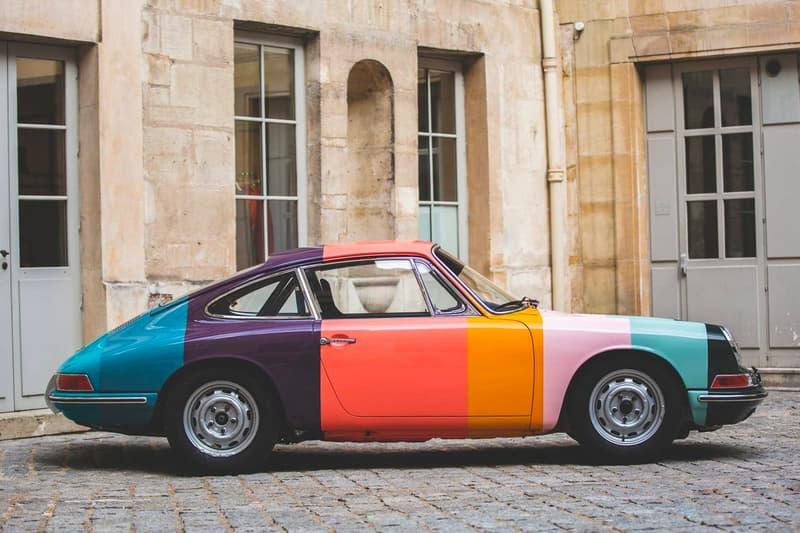 1965 Porsche 911 Paul Smith's Colorful stripes James Turner Tuthill Porsche Le Mans Classic