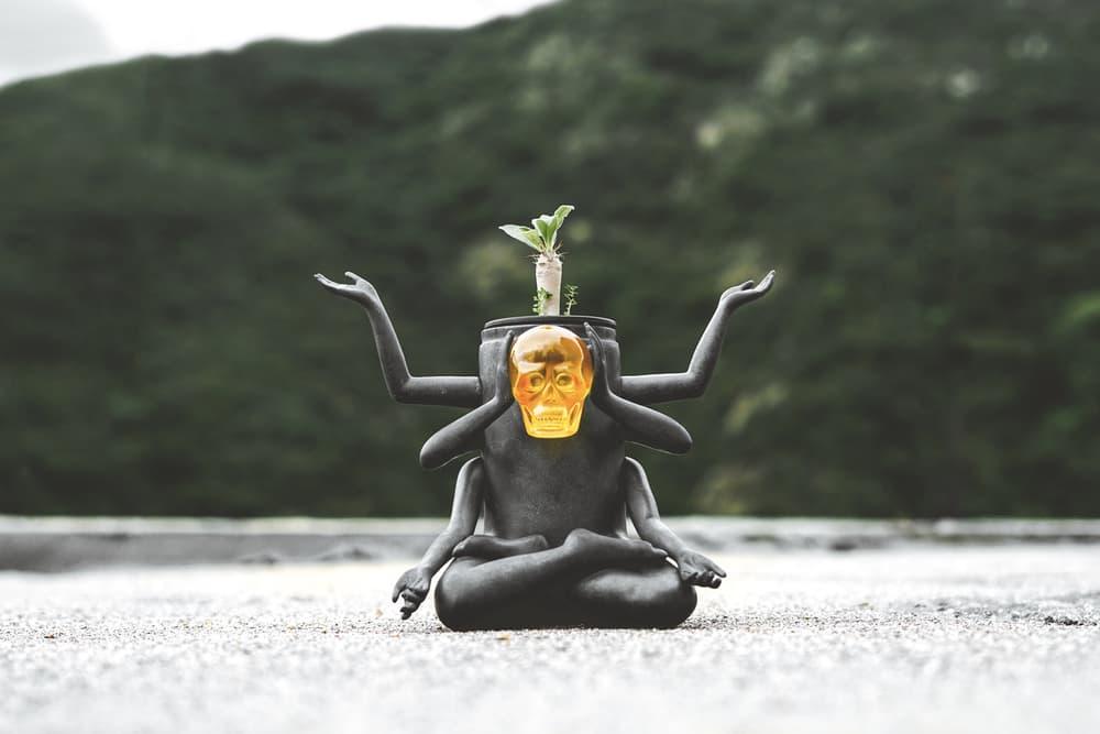 Prodip Leung How2work Plants of Gods II Terrarium Sculpture