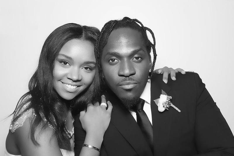 Pusha T wedding marriage virgina williams pharrell kanye west kim kardashian no malice july 21 2018 event virgina beach stream photos reception cavalier hotel beach