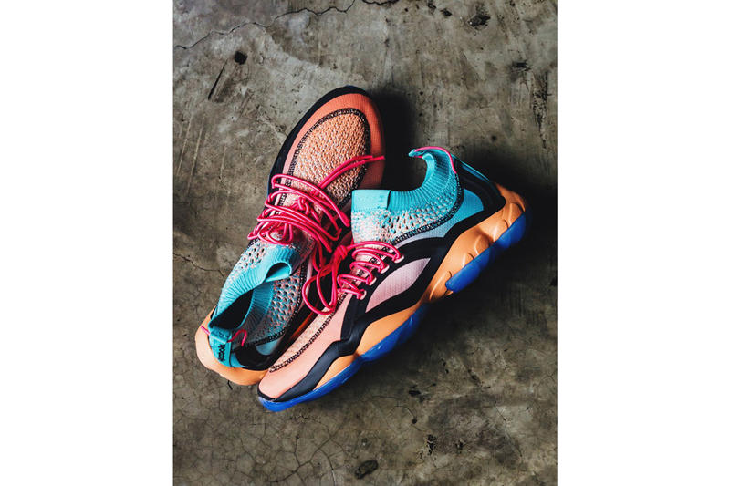 Reebok Lust Mexico DMX Fusion salamander axolotl release info pink orange blue sneakers