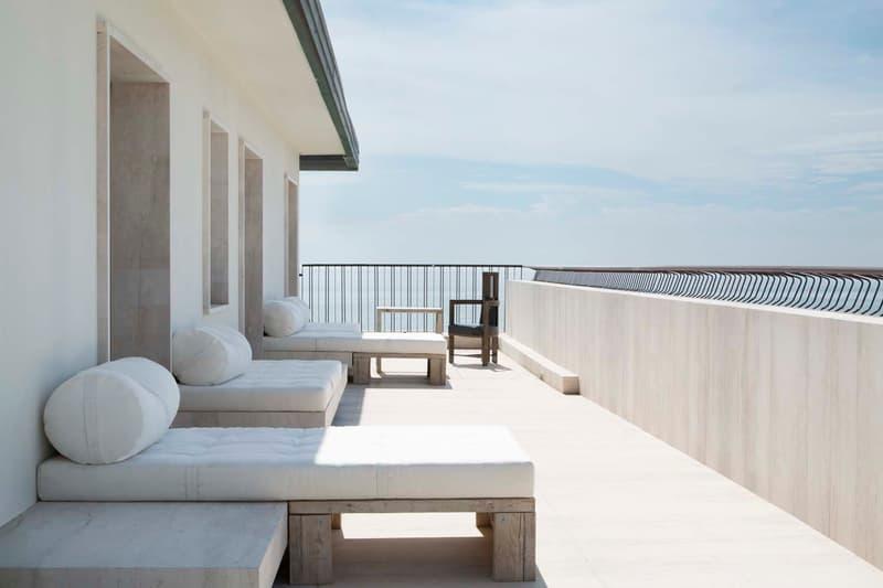 rick owens venice penthouse lido architecture interior design