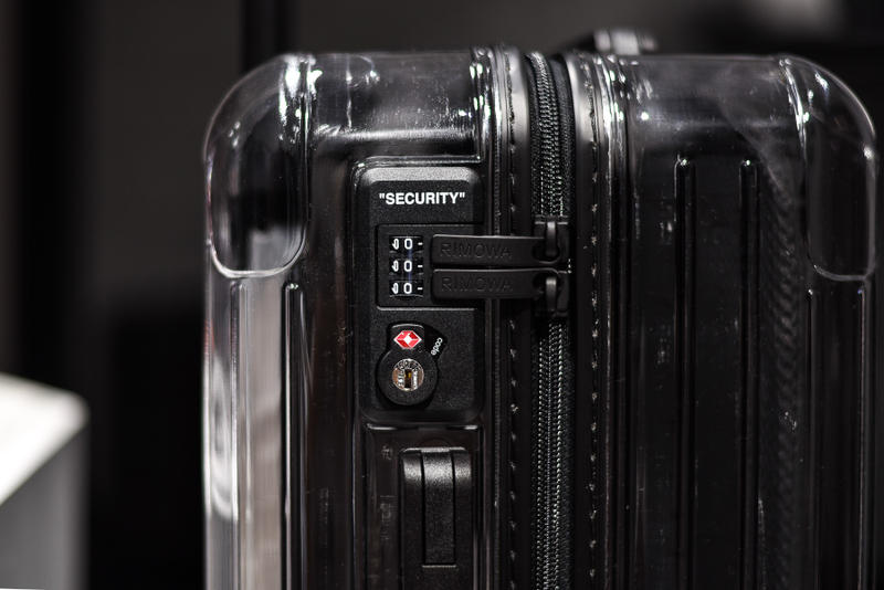 RIMOWA x Off-White™ Closer Look Luggage Suitcase Japan Omotesando Release Information Details