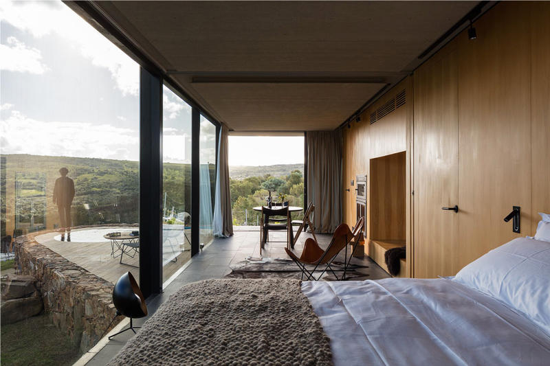 Sacromonte Landscape Hotel Vineyard Uruguay maldonado windery cabin price opening architecture