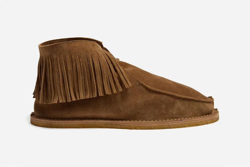 Saint Laurent Pre-Fall 2018 Desert Boot brown camel suede footwear Anthony Vaccarello