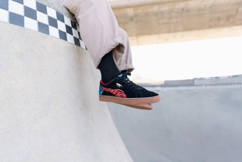 Santa Cruz PUMA Suede 50 Collaboration sneakers skateboards shoes