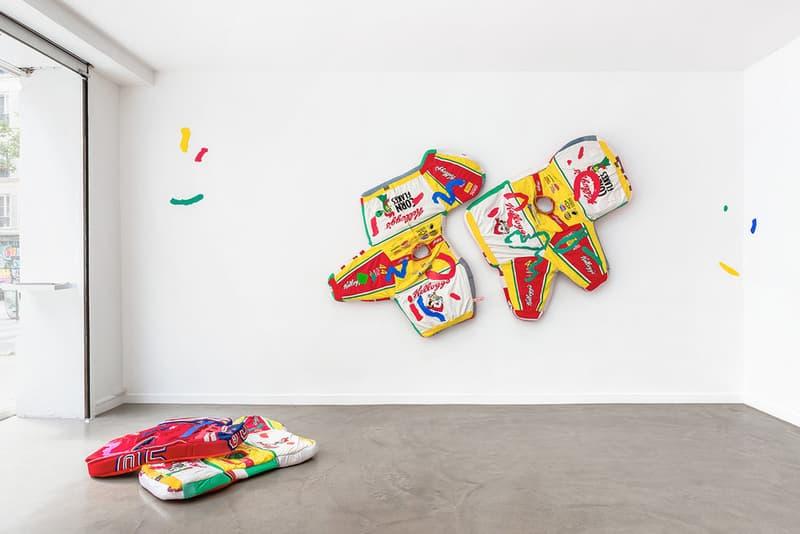 simone zaccagnini riviera sunset boulevard galerie deroullon artwork art installation sculptures
