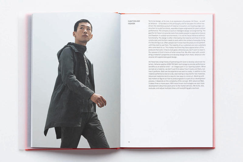 Six Stories of GORE-TEX Products Volume Three Fabrics Books stone island asics converse nanamica the north face purple label hyke gel mai arcteryx veilance interview design technology william sons camper