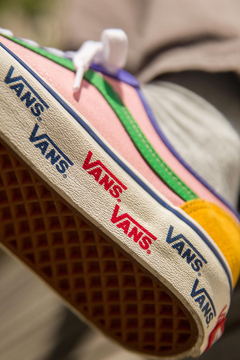 size? vans style 36 patchwork collaboration july 27 2018 drop release date buy purchase sale multicolor exclusive