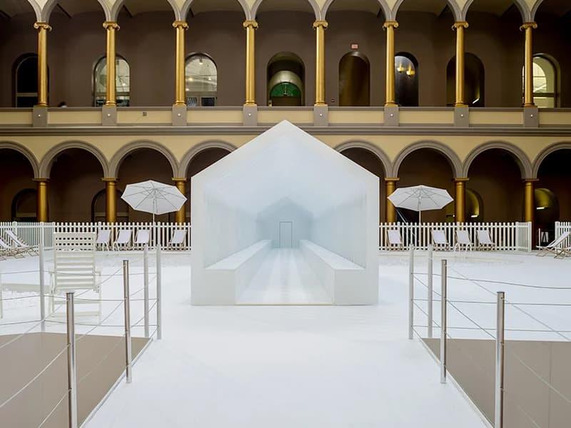 snarkitecture opens fun house national building museum daniel arsham alex mustonen exhibition architecture design art artworks