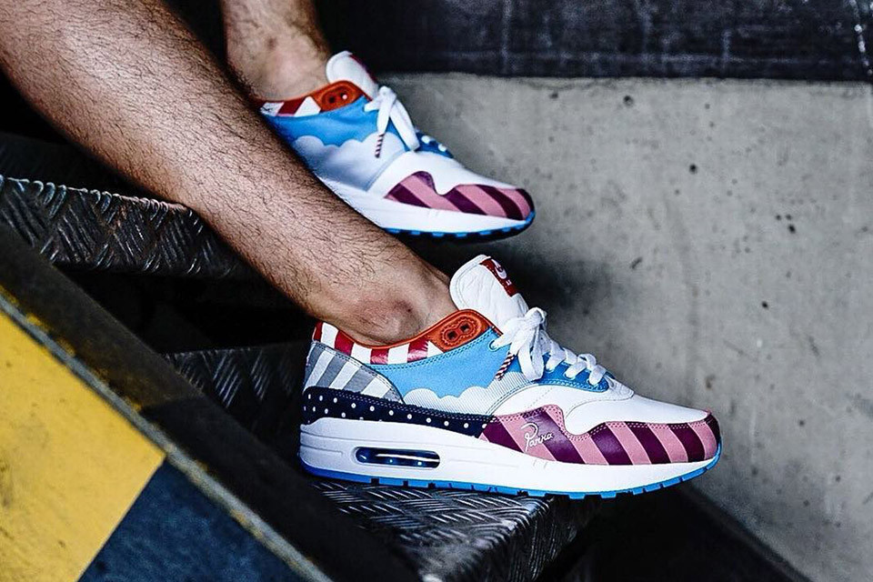 """pretty nice 01808 38cb7 Solebox Berlin Made Resellers Wear Nike Air Max 1 """"Parra"""" After Purchase"""