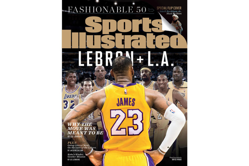 buy popular 21041 912bb LeBron James Covers New 'Sports Illustrated' | HYPEBEAST