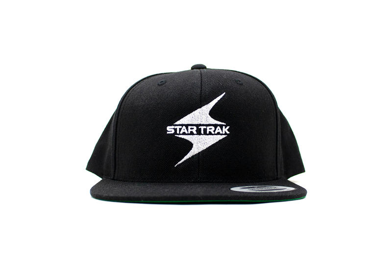 star trak billionaire boys club collaboration collection white cap hat black logo