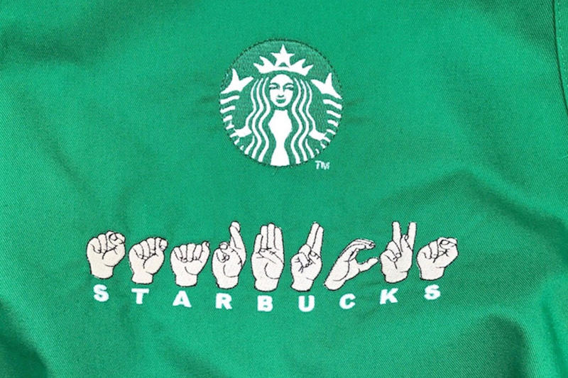 Starbucks Signing Store for Deaf Customers