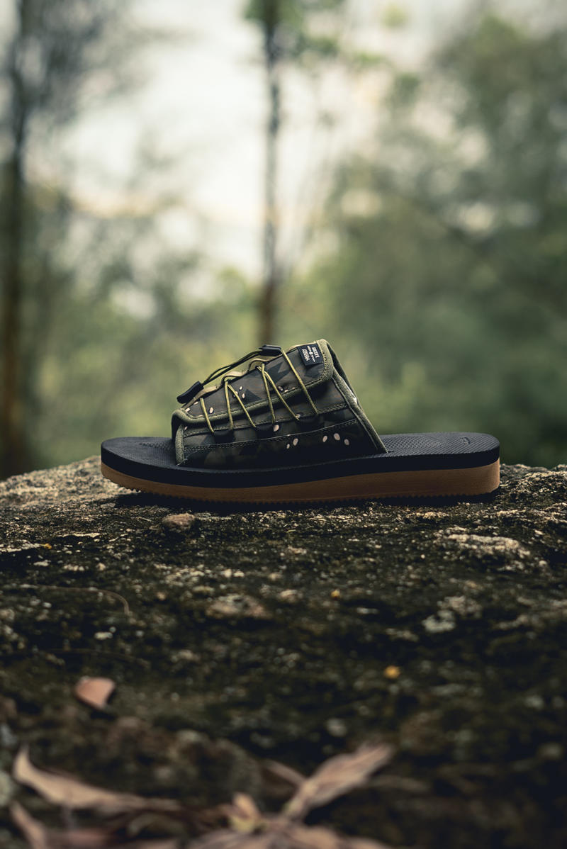 CLOT x Suicoke OLAS-CLTab Collaboration Sandals