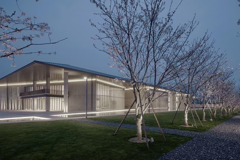 Tadao Ando Liangzhu Village Cultural Art Centre Architecture Design Arts Modern Lighting Interior Exterior Garden Plants Trees