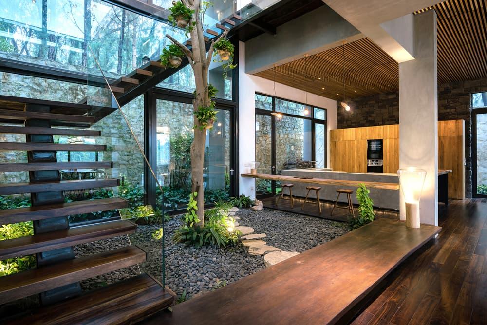 Teak House Pham Thanh Huy Vietnam Architecture Homes Houses Modern Interior Exterior Design